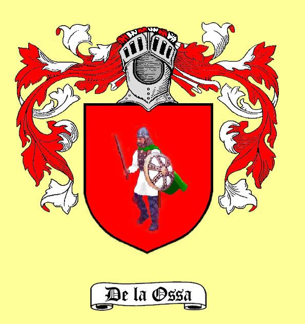 Probable blas�n de De la Ossa. El yelmo es imaginario