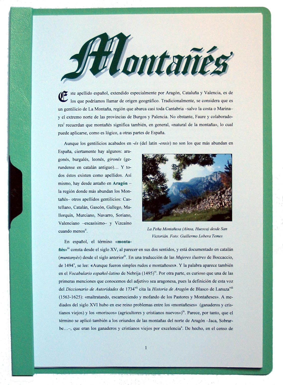 Fotograf�a de la portada del apellido Monta��s. Pulsa encima para ampliar la imagen (334 kb).